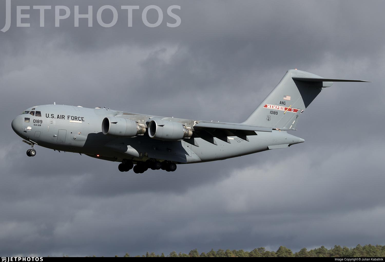 01-0189 - Boeing C-17A Globemaster III - United States - US Air Force (USAF)
