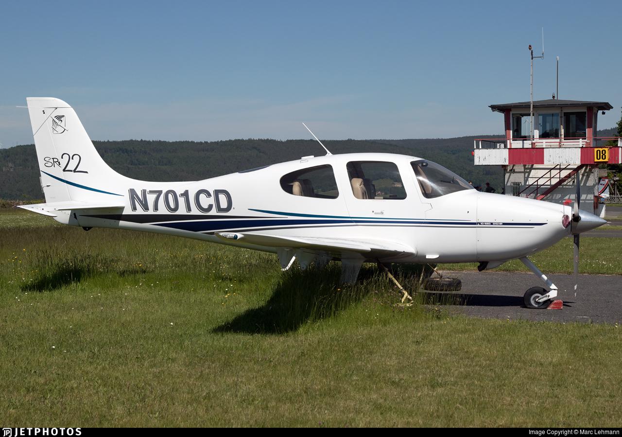 N701CD - Cirrus SR22 - Private