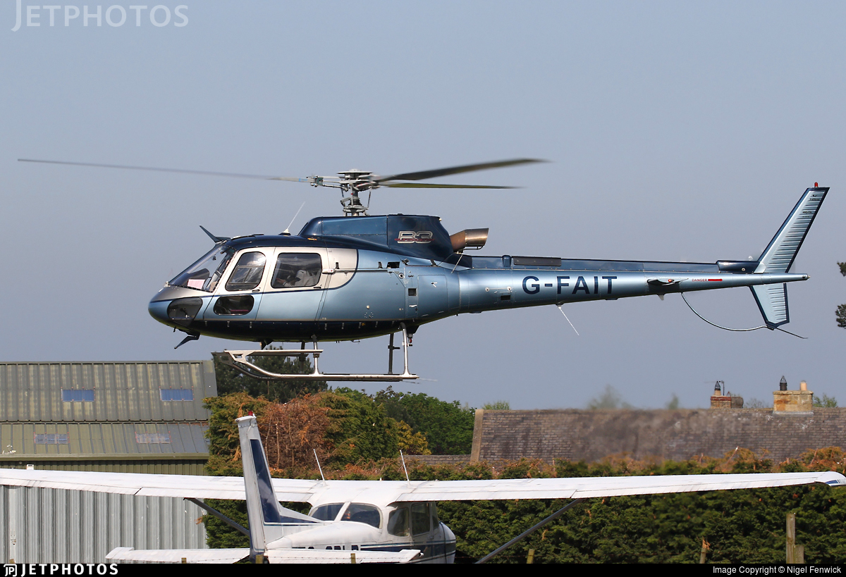 G-FAIT - Aérospatiale AS 350B3 Ecureuil - Private
