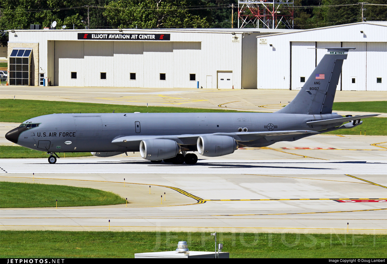 58-0107 - Boeing KC-135R Stratotanker - United States - US Air Force (USAF)