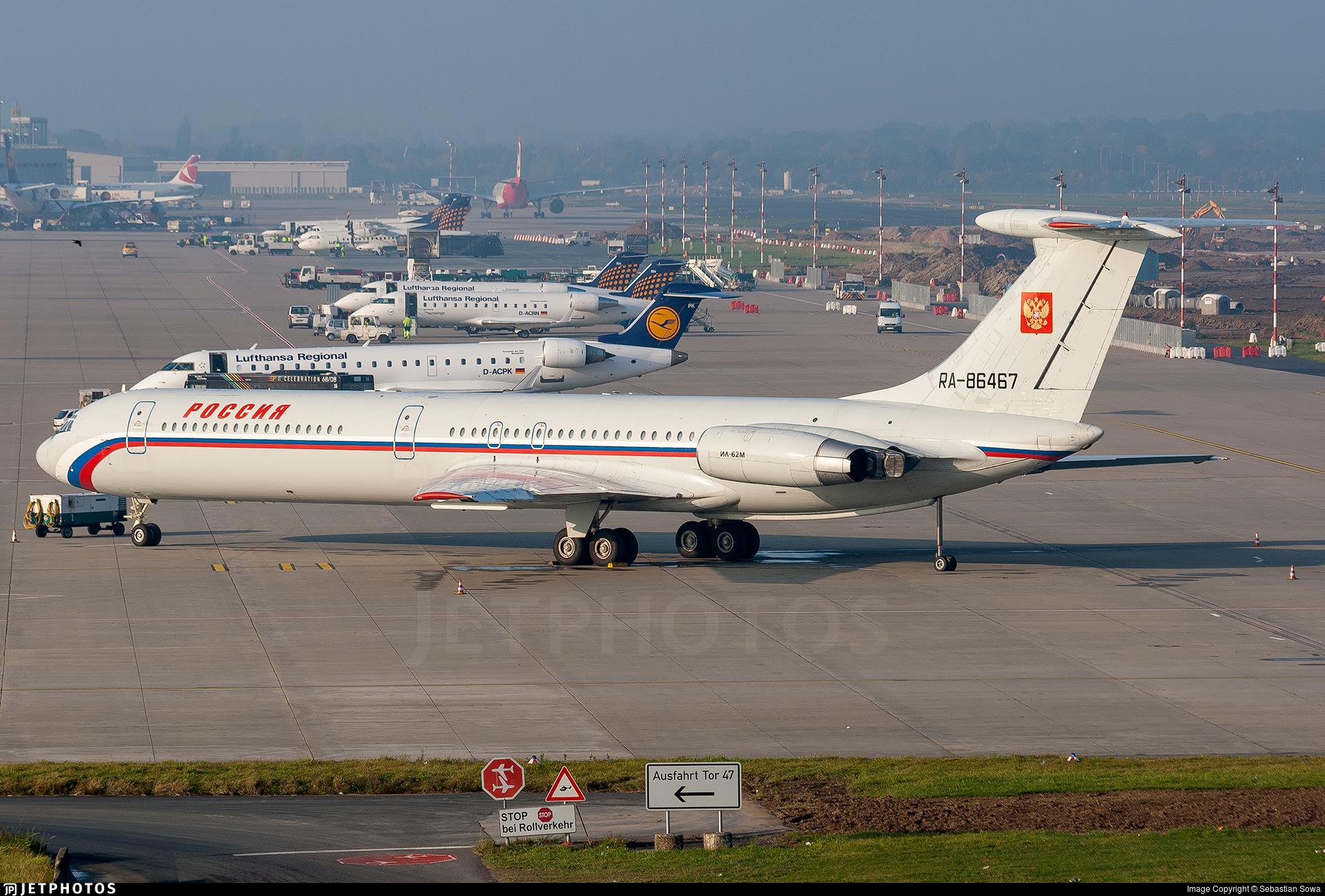 RA-86467 - Ilyushin IL-62M - Rossiya - Special Flight Squadron