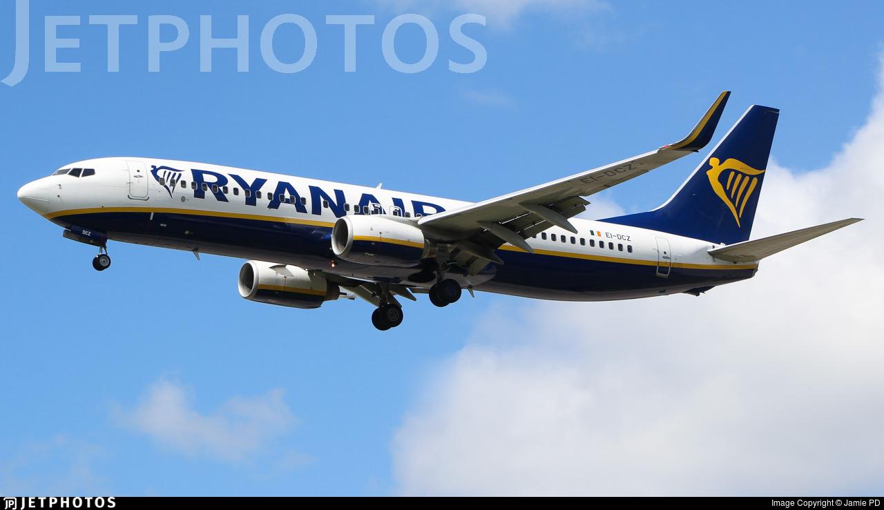 EI-DCZ - Boeing 737-8AS - Ryanair