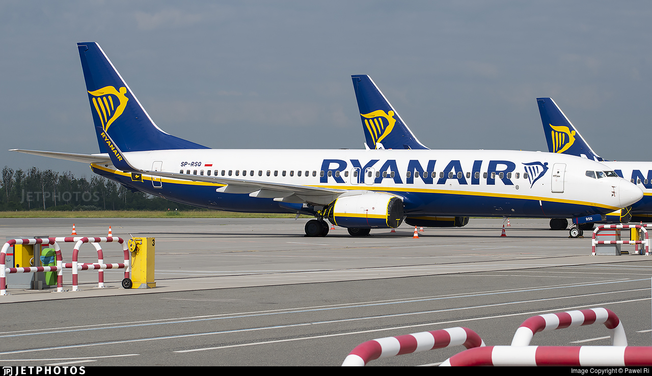 SP-RSQ - Boeing 737-8AS - Ryanair Sun