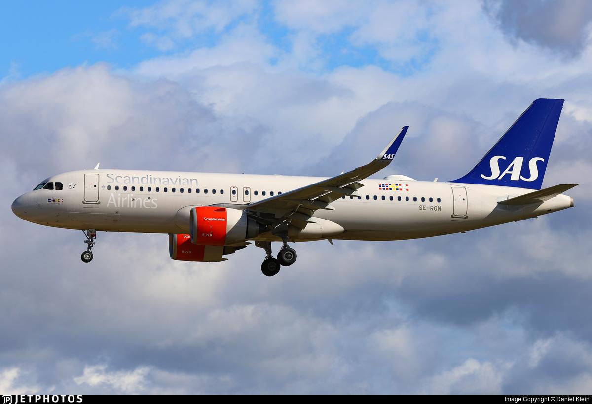 SE-RON - Airbus A320-251N - Scandinavian Airlines (SAS)