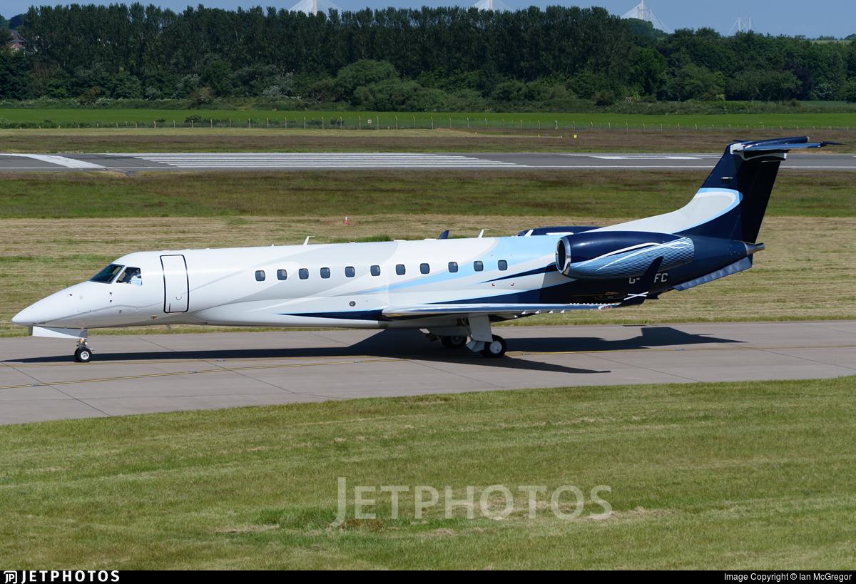 G-THFC - Embraer ERJ-135BJ Legacy 600 - London Executive Aviation