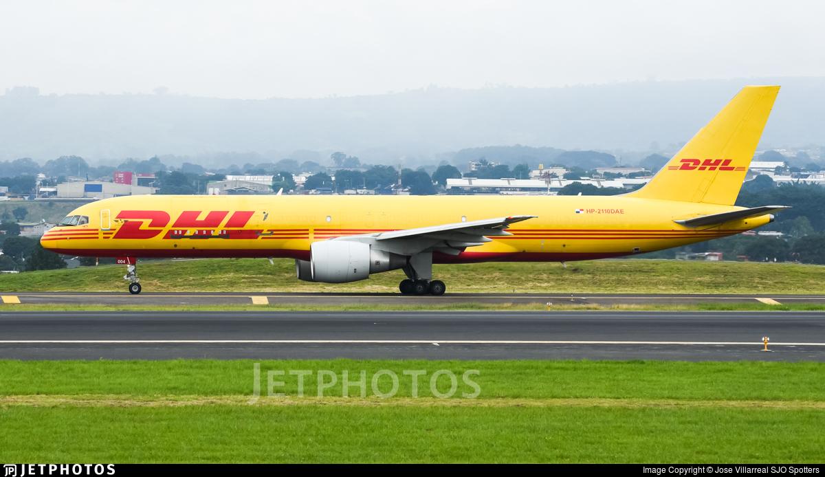 HP-2110DAE - Boeing 757-26D(PCF) - DHL Aero Expreso