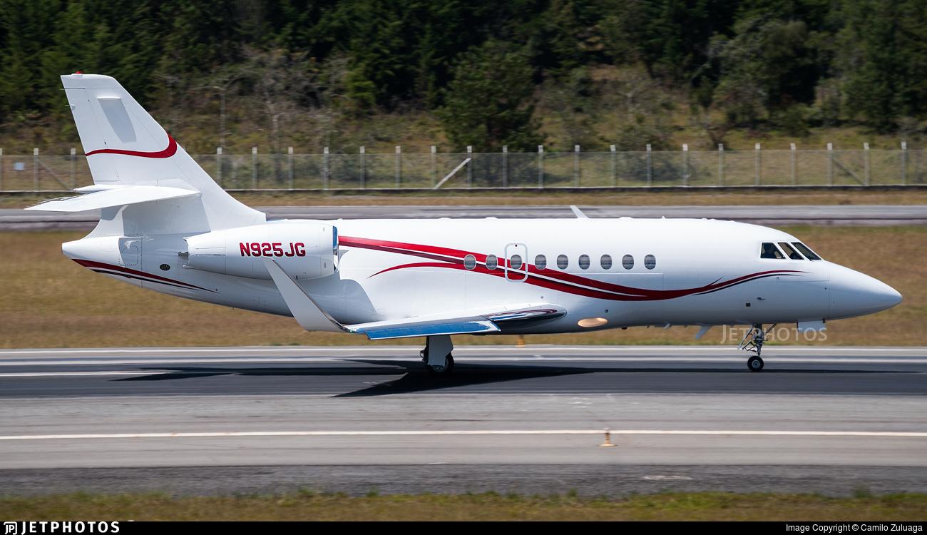 N925JG - Dassault Falcon 2000 - Private