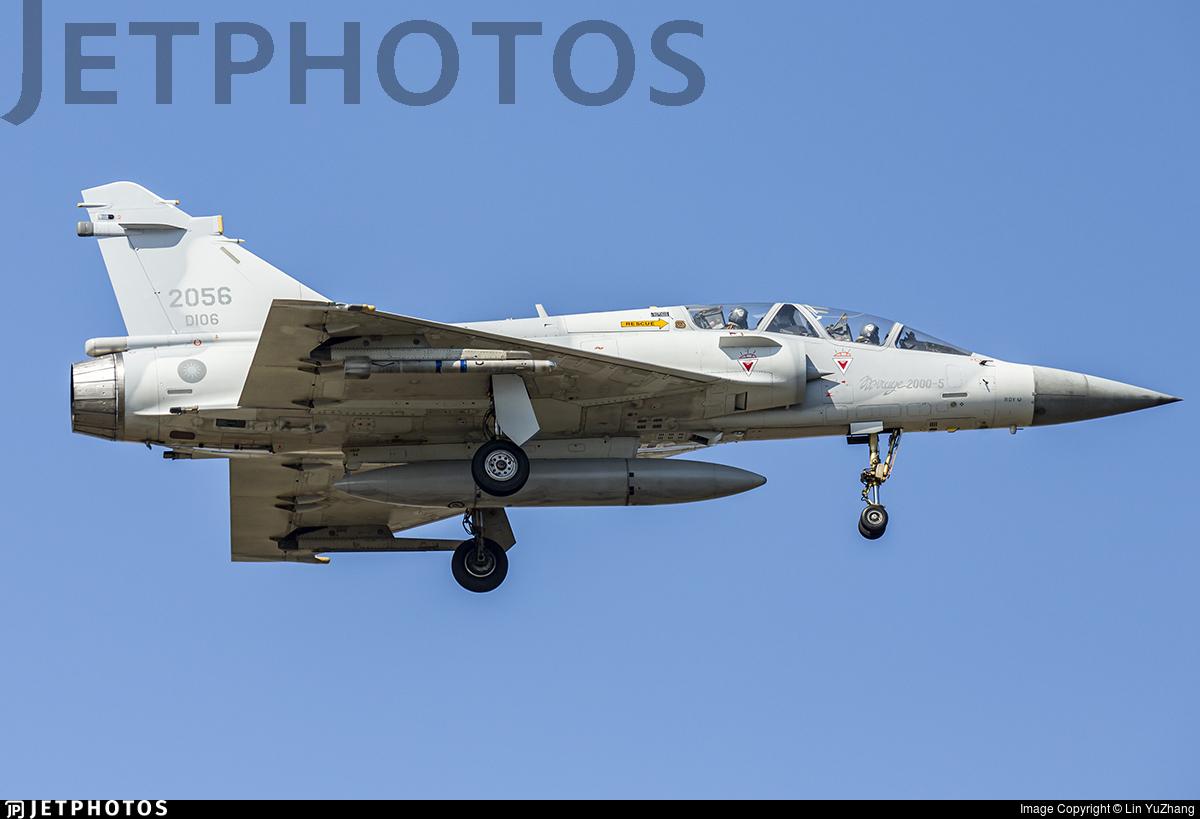 2056 - Dassault Mirage 2000-5DI - Taiwan - Air Force