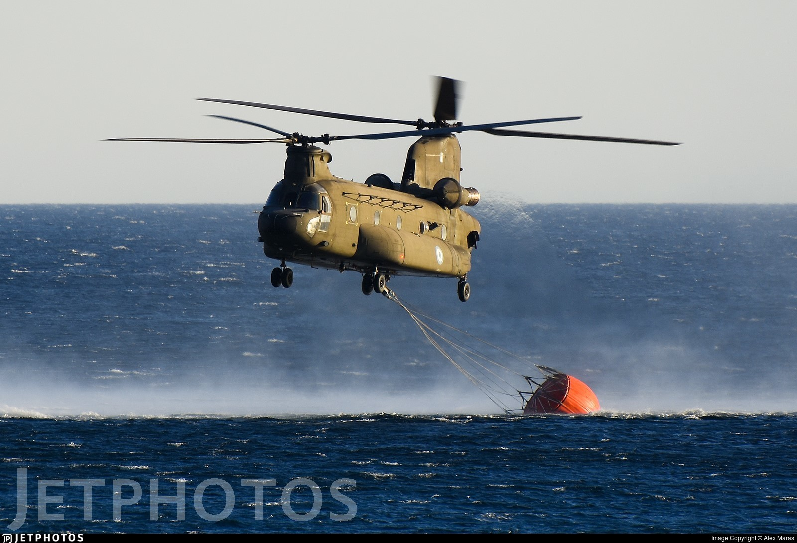 ES913 - Boeing CH-47SD Chinook - Greece - Army