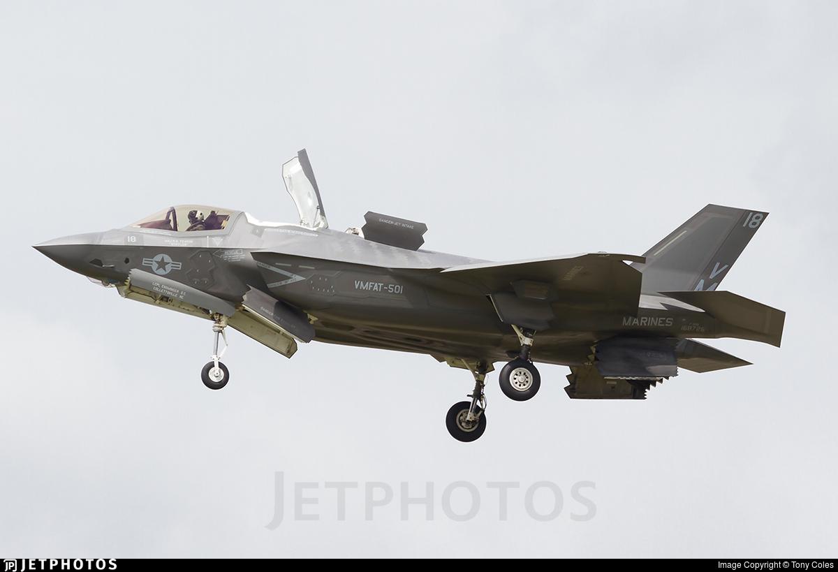 168726 - Lockheed Martin F-35B Lightning II - United States - US Marine Corps (USMC)