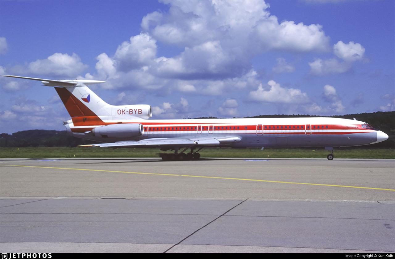 OK-BYB - Tupolev Tu-154B-2 - Czechoslovakia - Government Flying Service