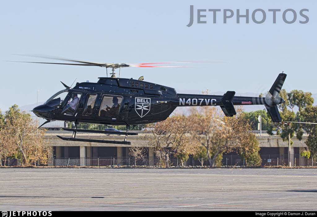 N407VC - Bell 407GXI - Bell Helicopter Textron