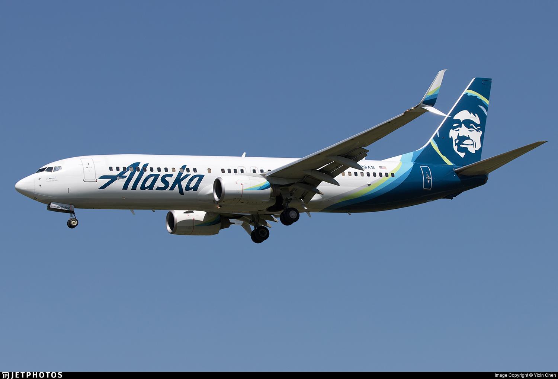 N529AS - Boeing 737-890 - Alaska Airlines