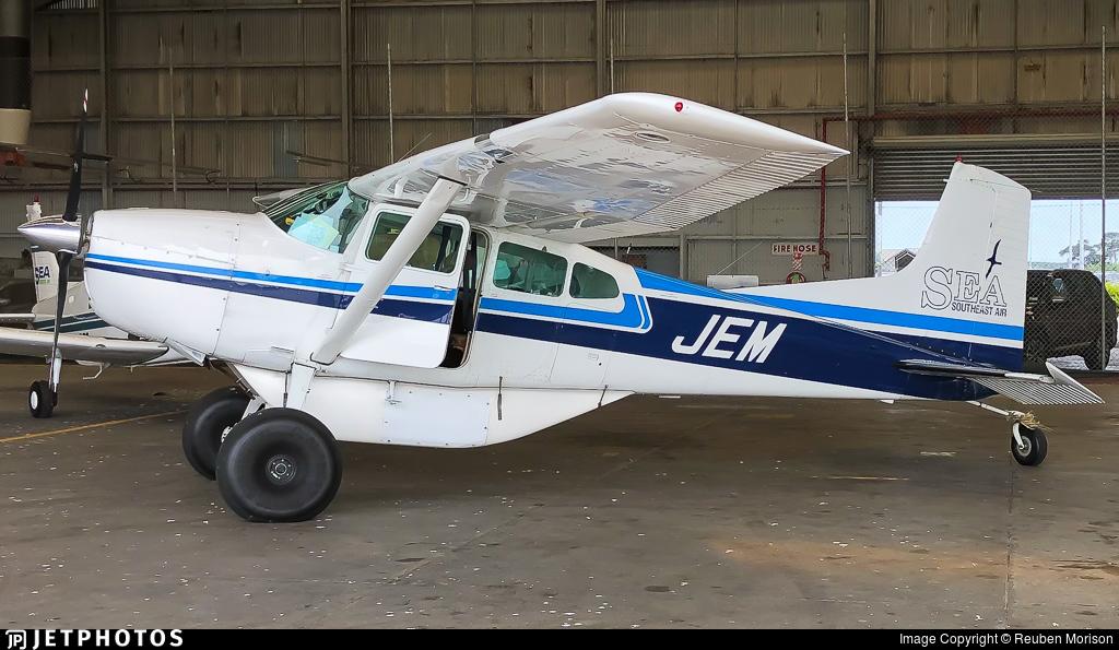 ZK-JEM - Cessna A185E Skywagon - Stewart Island Flights