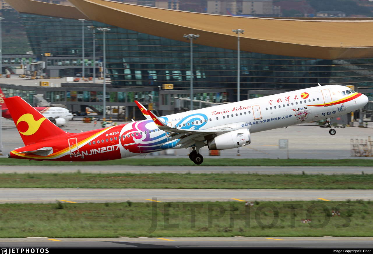 B-8389 - Airbus A321-231 - Tianjin Airlines