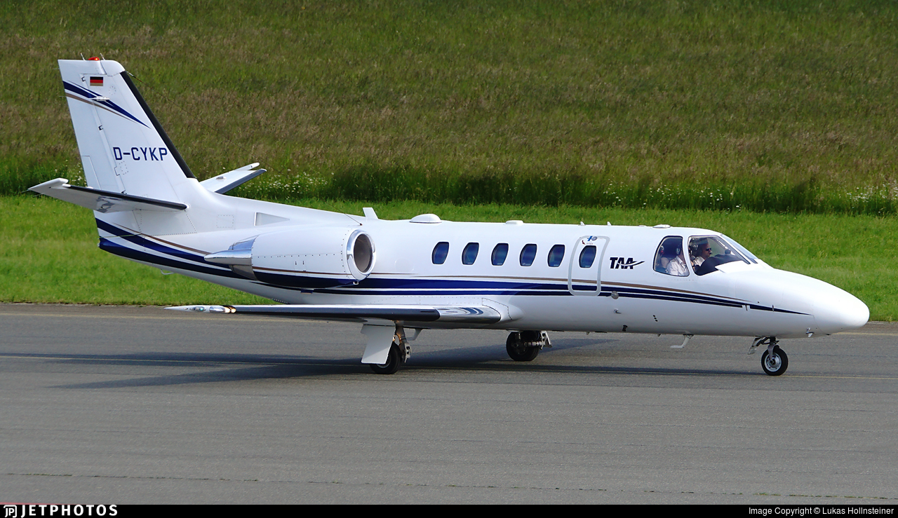 D-CYKP - Cessna 550B Citation Bravo - Tyrol Air Ambulance