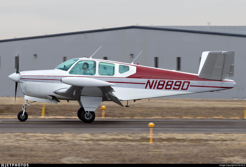 N1889D - Beechcraft C35 Bonanza - Private