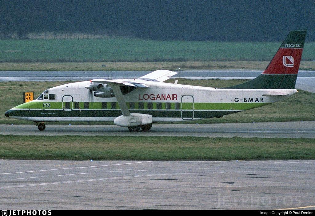 G-BMAR - Short 360-100 - Loganair