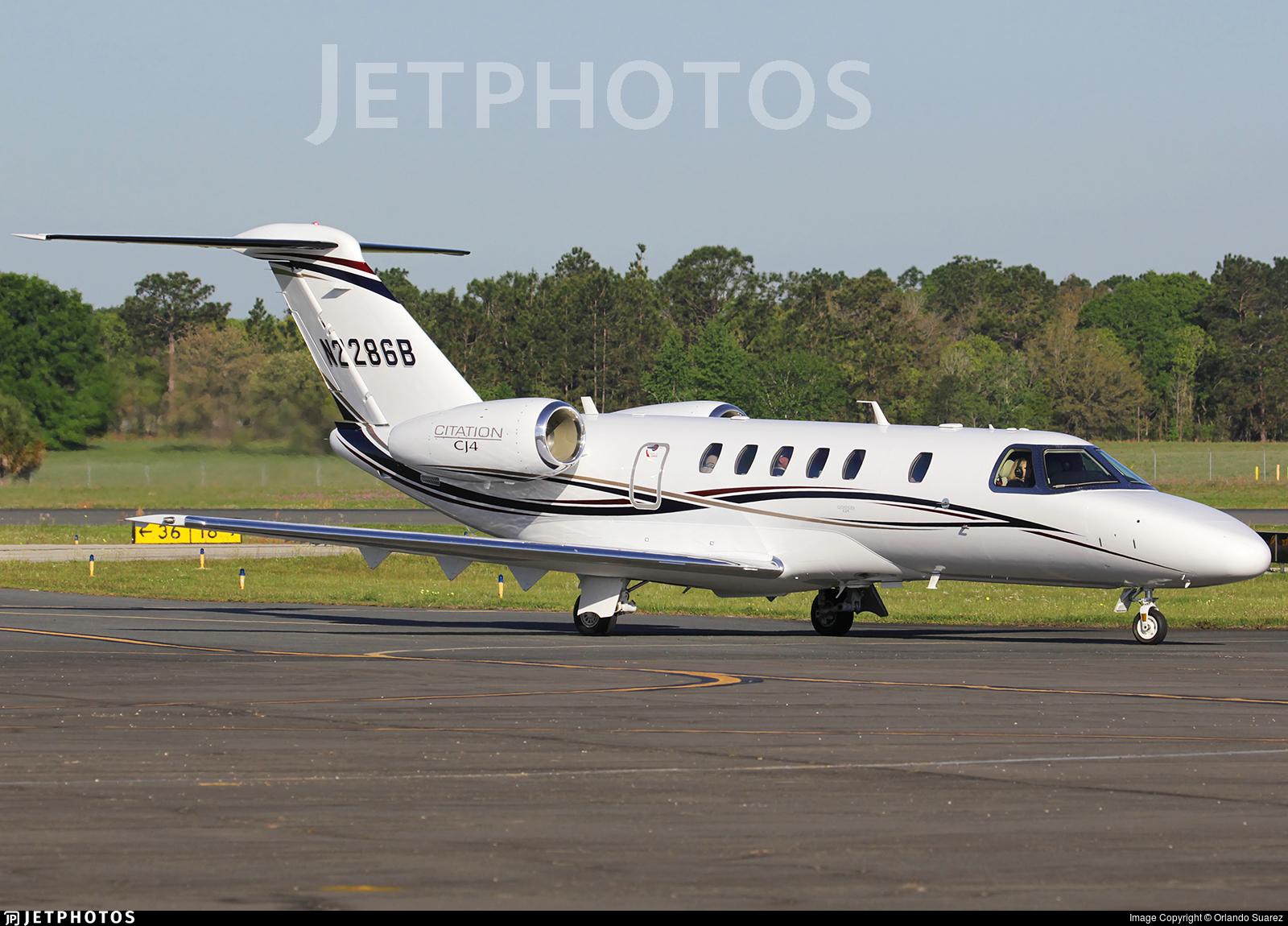N2286B - Cessna 525 Citationjet CJ4 - Private