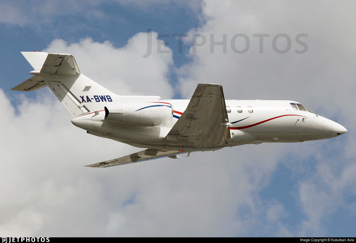 XA-BWB - Raytheon Hawker 800XP - Air Taxi