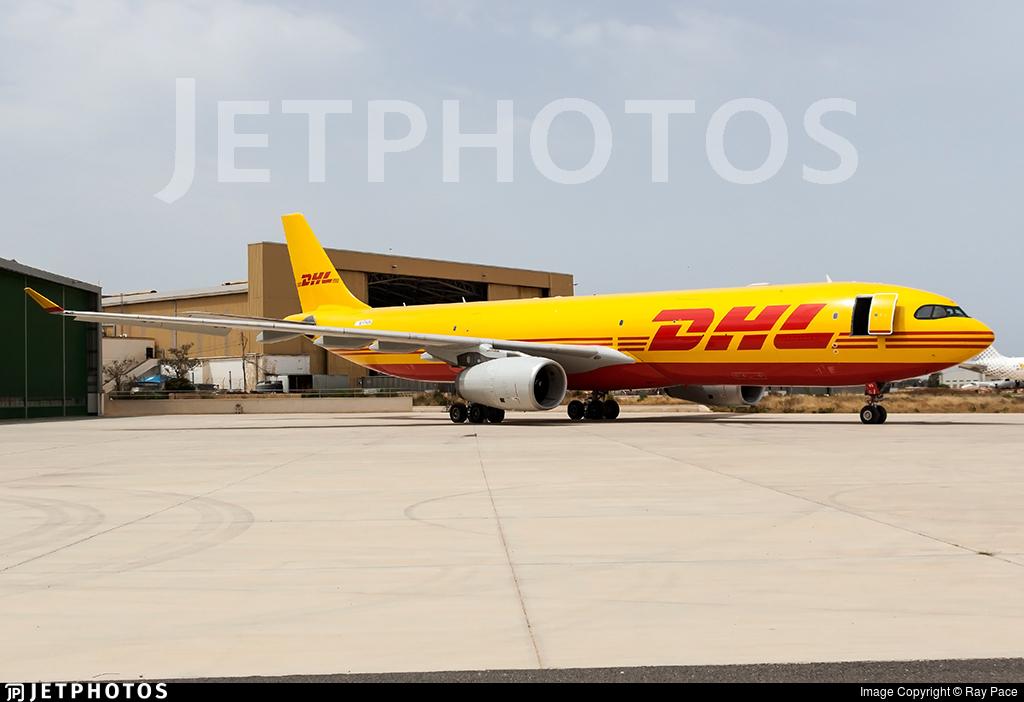 M-PVGK - Airbus A330-343P2F - DHL Air