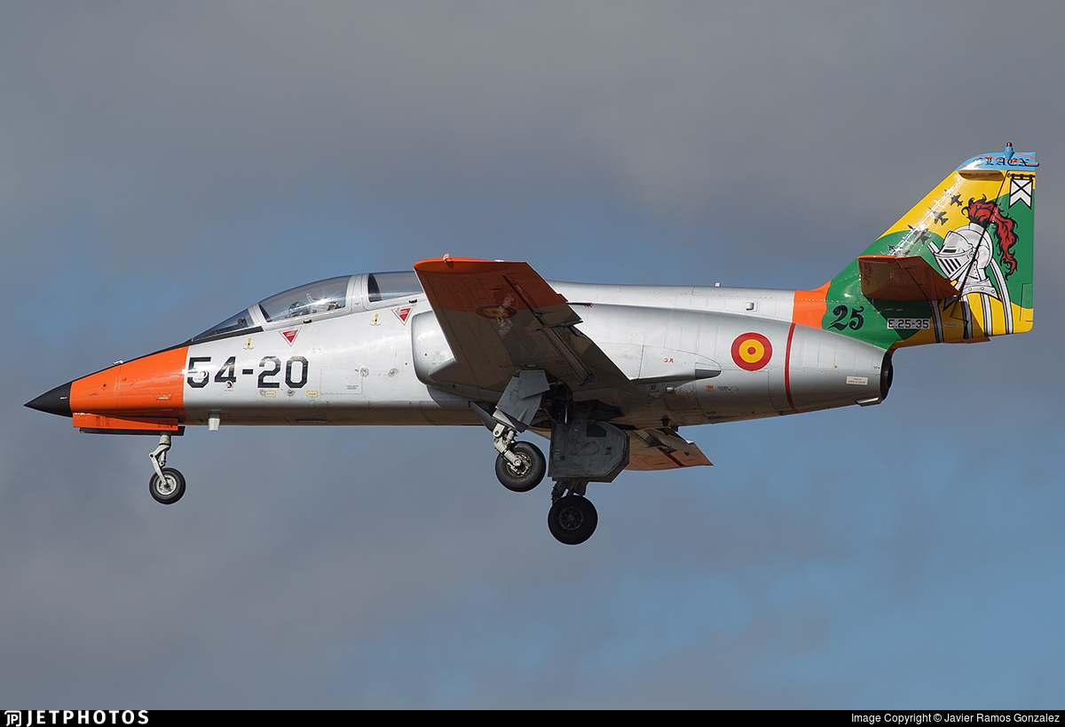 E.25-35 - CASA C-101EB Aviojet - Spain - Air Force