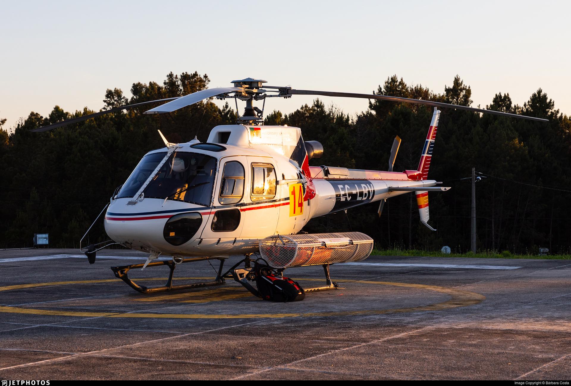 EC-LBV - Eurocopter AS 350B3 Ecureuil - Babcock MCS Spain
