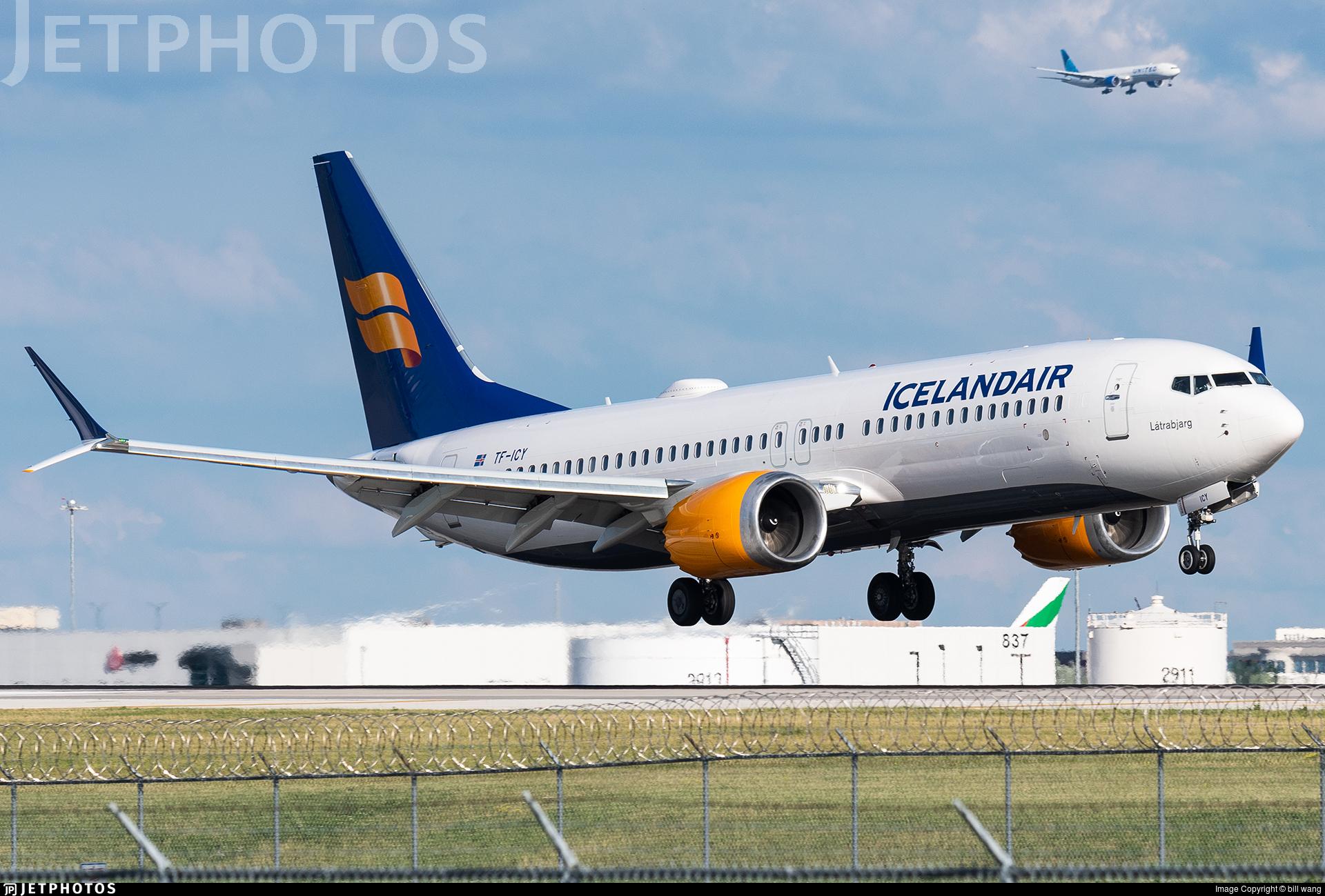 TF-ICY - Boeing 737-8 MAX - Icelandair