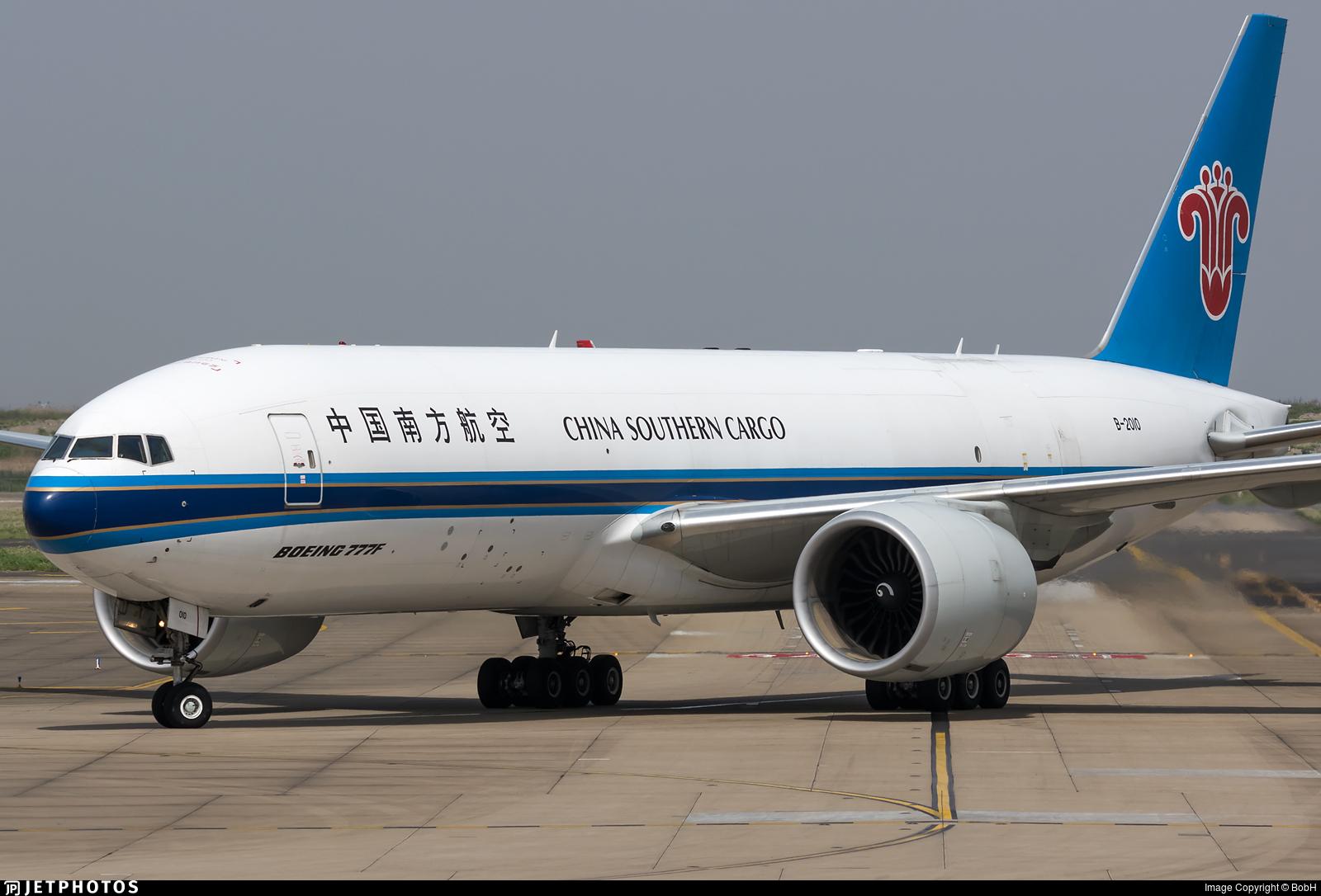 B-2010 - Boeing 777-F1B - China Southern Cargo