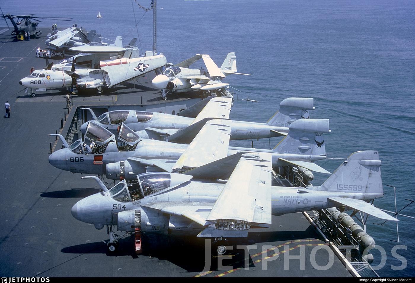 155599 - Grumman A-6E Intruder - United States - US Navy (USN)