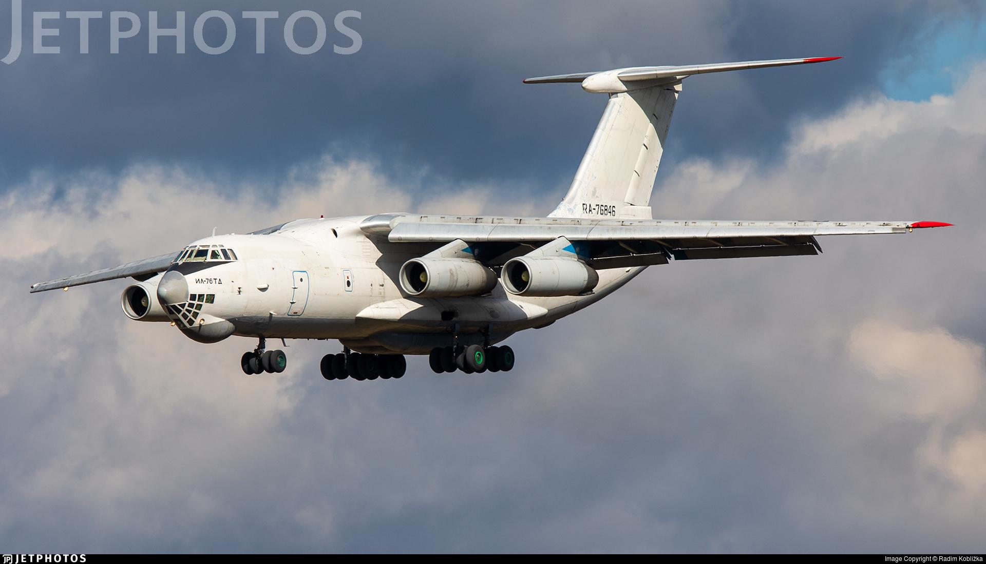 RA-76846 - Ilyushin IL-76TD - Aviacon Zitotrans