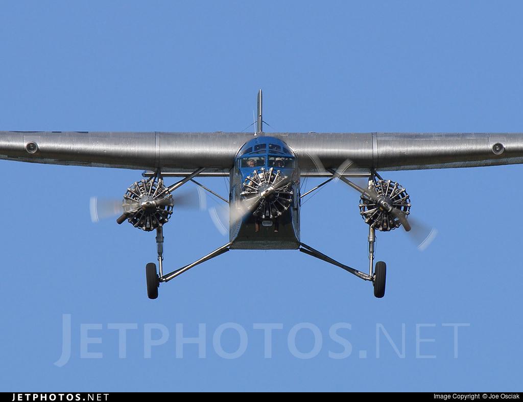 NC8407 - Ford Tri-Motor - Eastern Air Transport