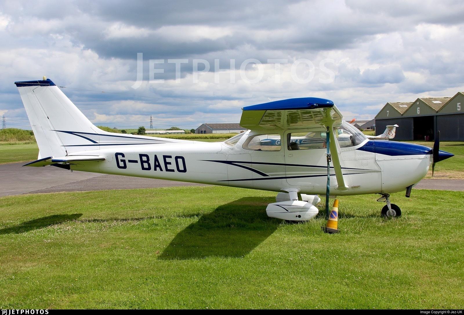 G-BAEO - Reims-Cessna F172M Skyhawk - Private