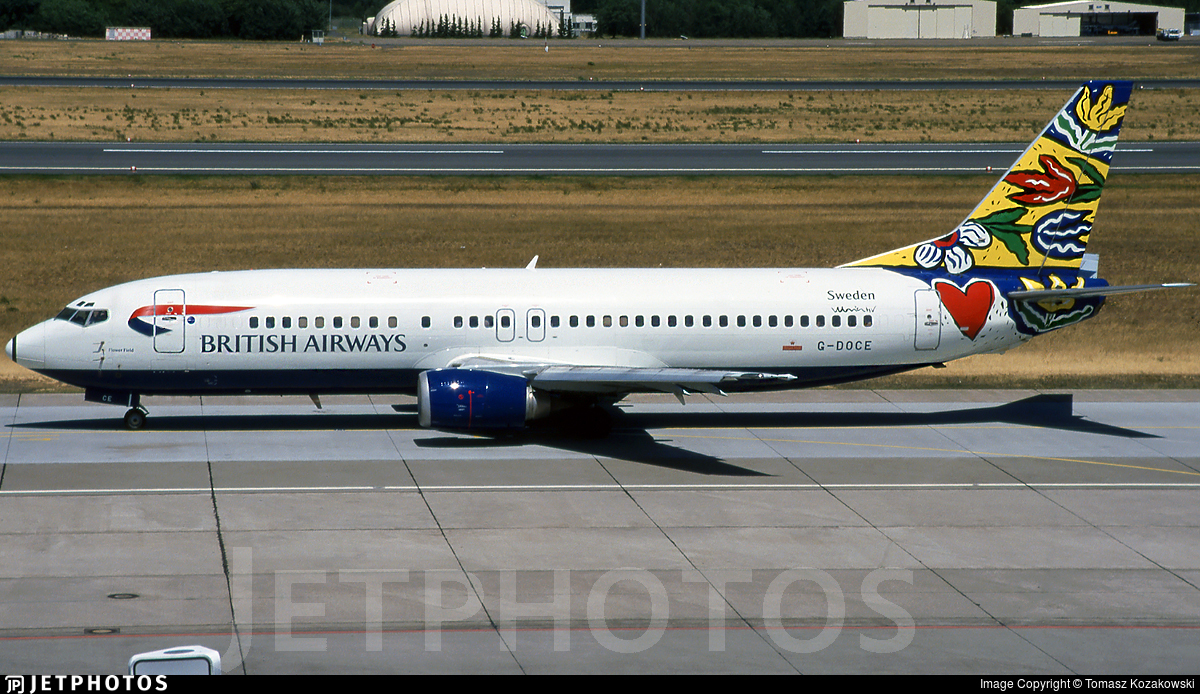 G-DOCE - Boeing 737-436 - British Airways