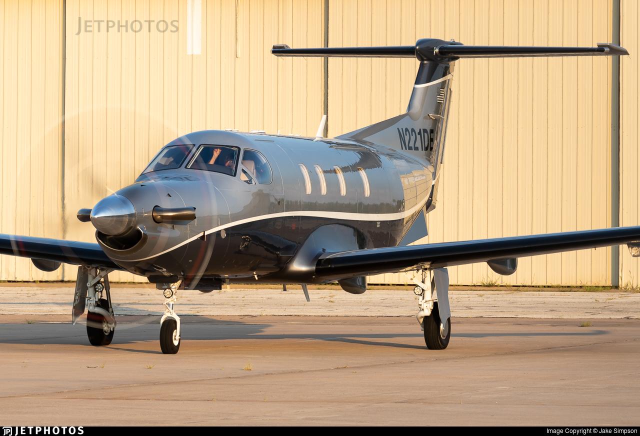 N221DE - Pilatus PC-12 NGX - Private