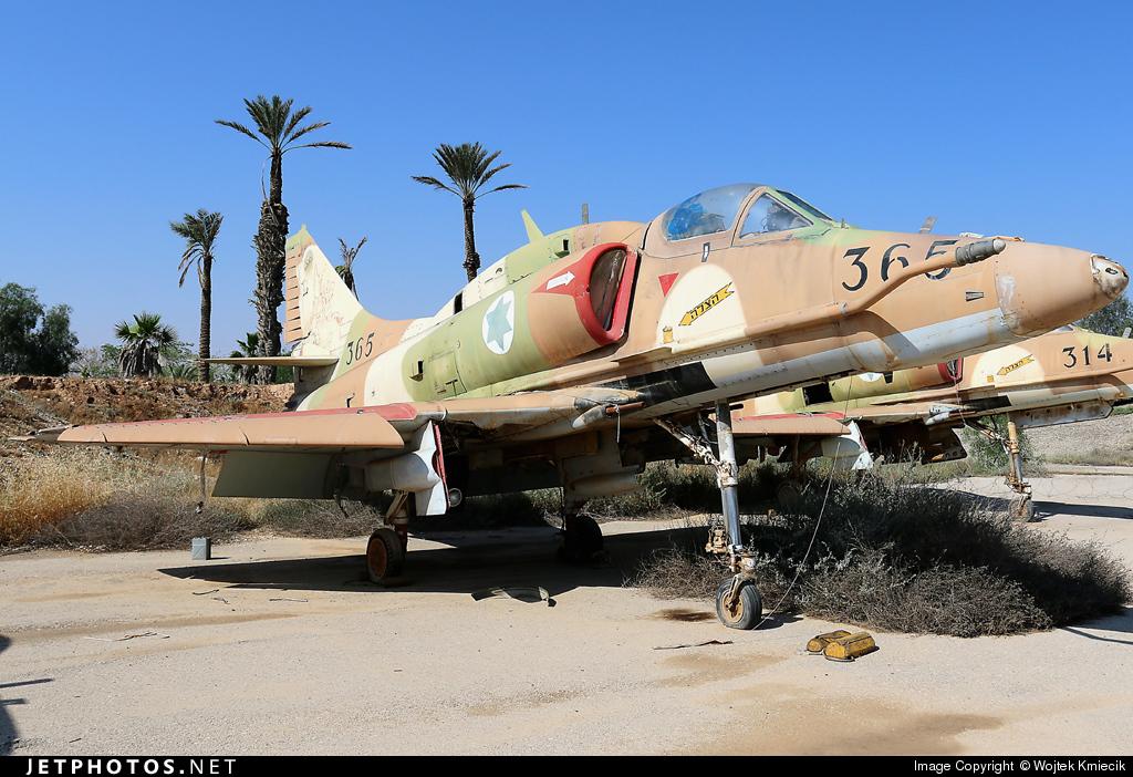 365 - McDonnell Douglas A-4N Skyhawk - Israel - Air Force