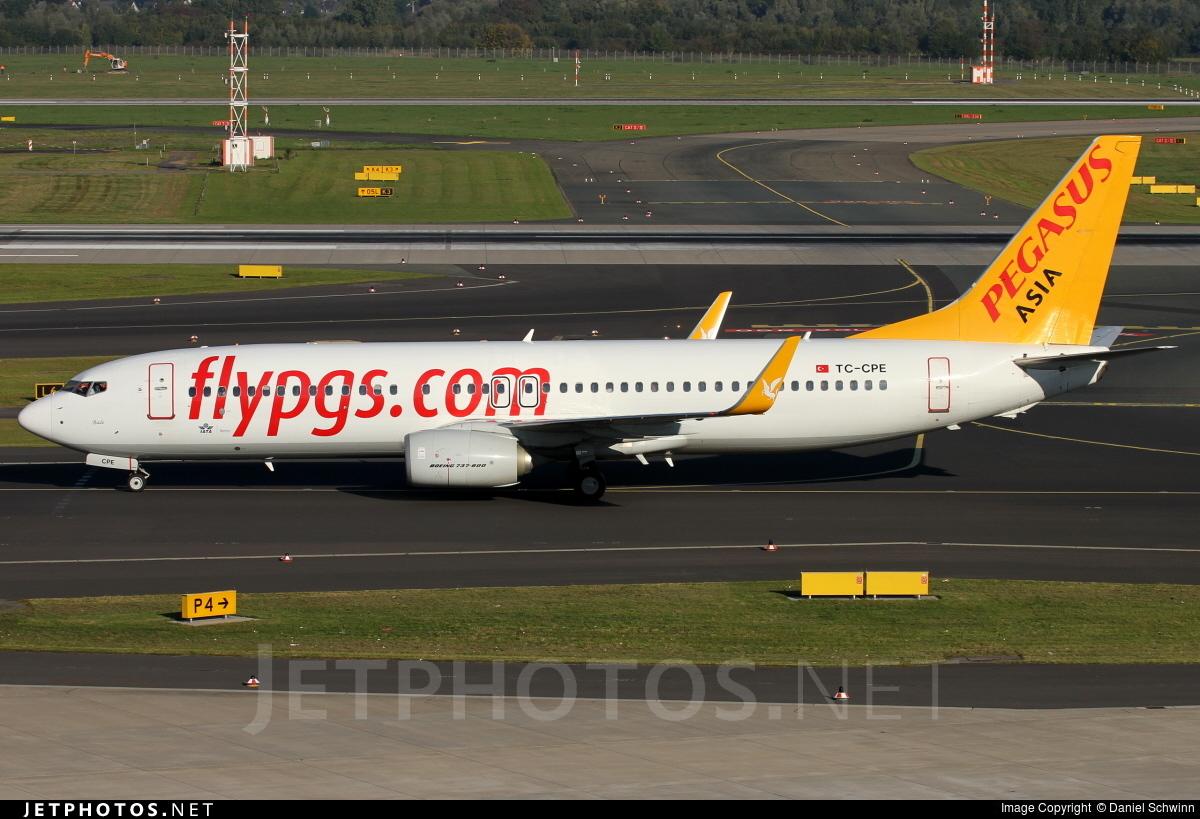 TC-CPE - Boeing 737-82R - Pegasus Airlines Asia