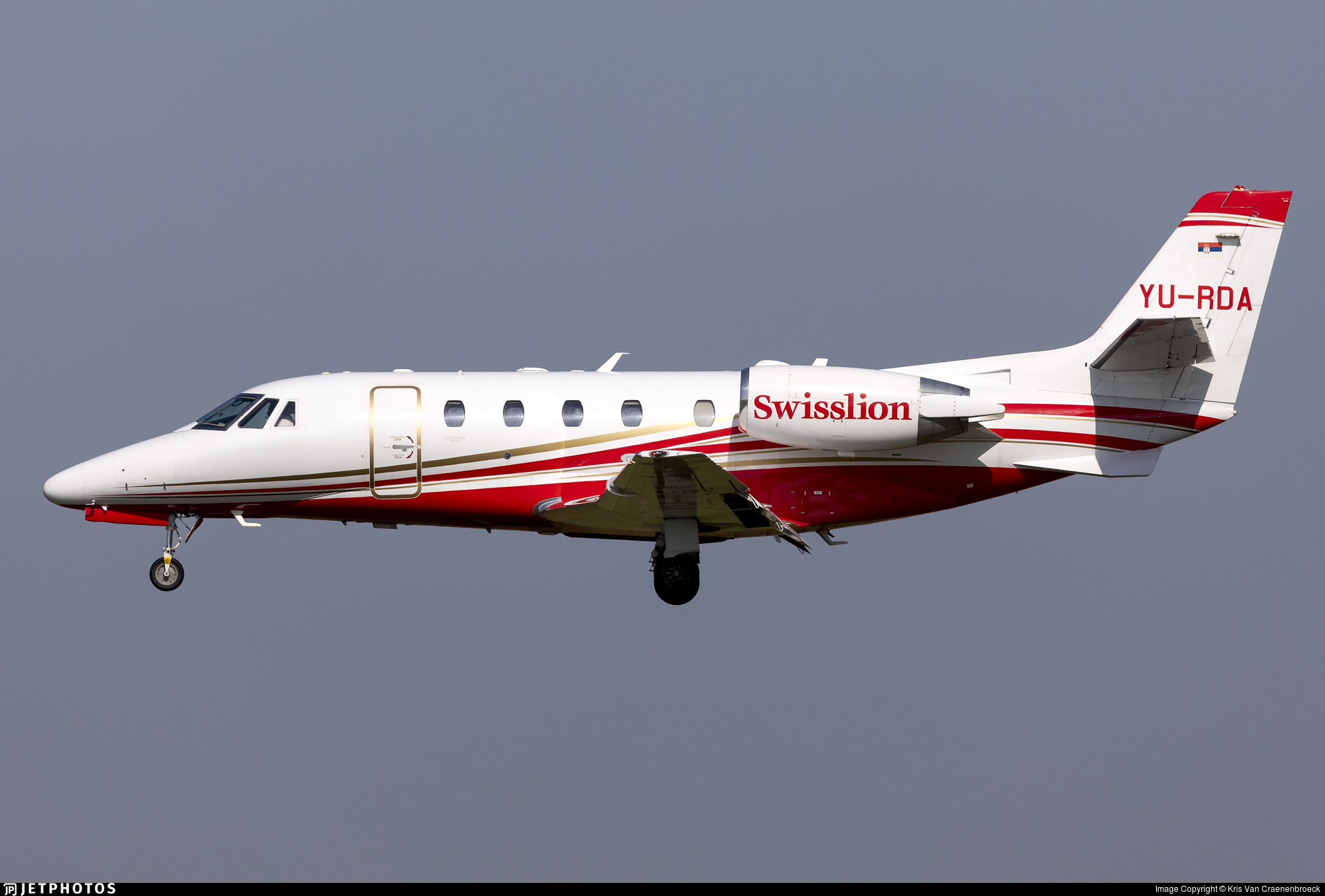 YU-RDA - Cessna 560XL Citation XLS Plus - Air Swisslion