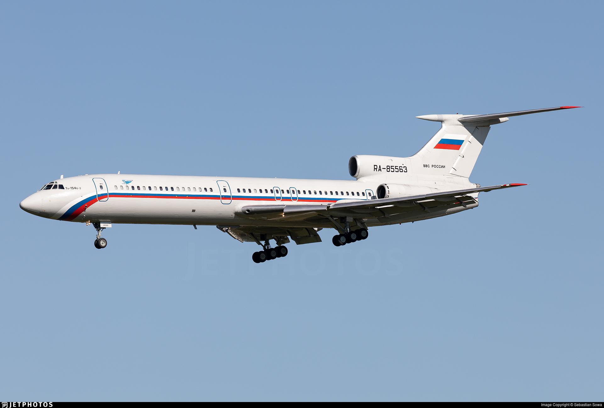RA-85563 - Tupolev Tu-154B-2 - Russia - Air Force