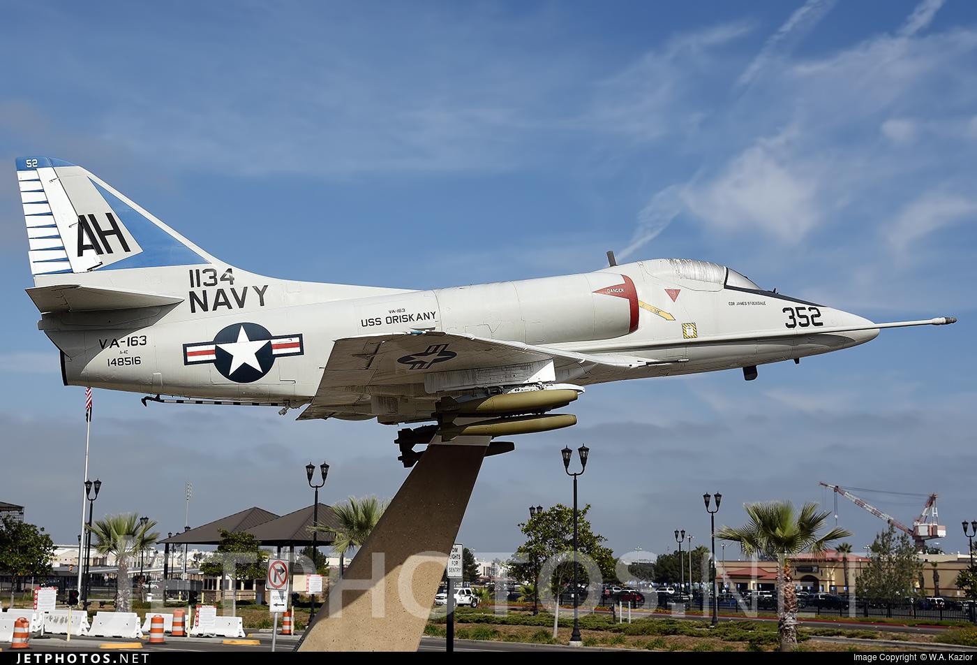 148516 - Douglas A-4C Skyhawk - United States - US Navy (USN)