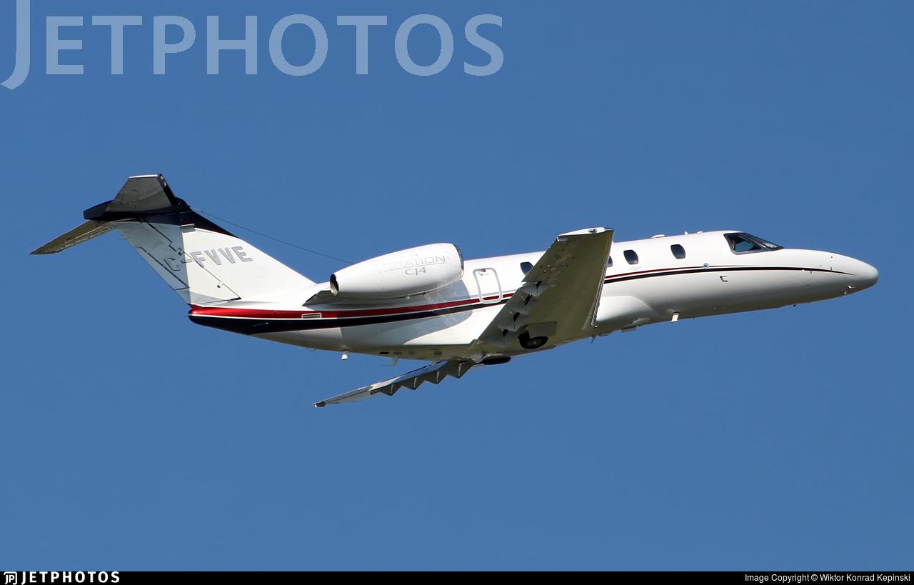 C-FVVE - Cessna 525C CitationJet 4 - Private