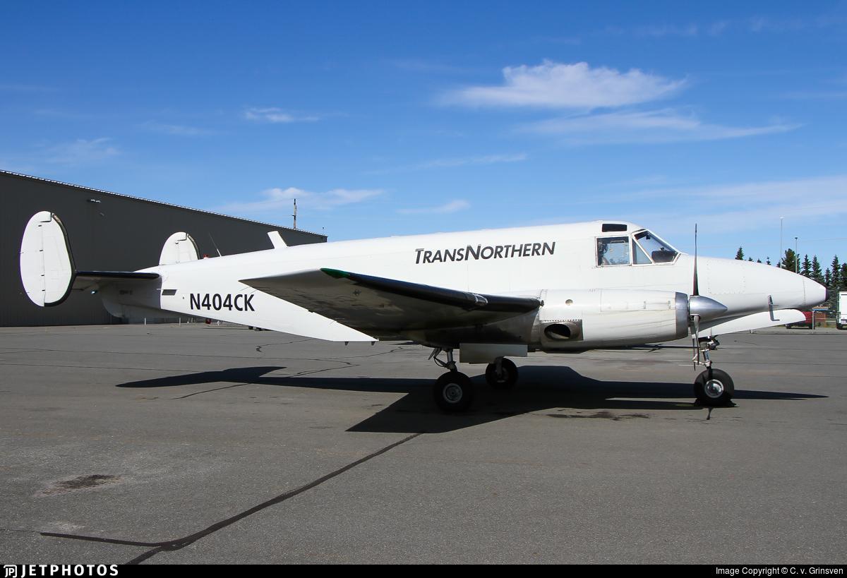 N404CK - Beech C-45H Expeditor - TransNorthern