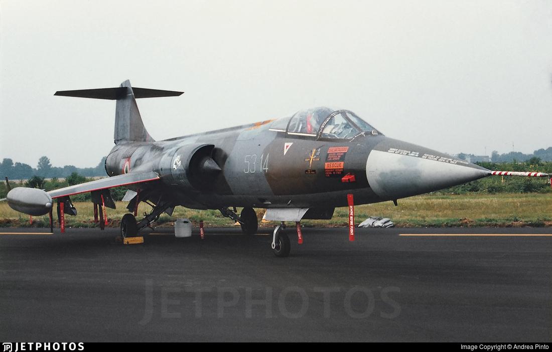 MM6873 - Lockheed F-104S ASA-M Starfighter - Italy - Air Force