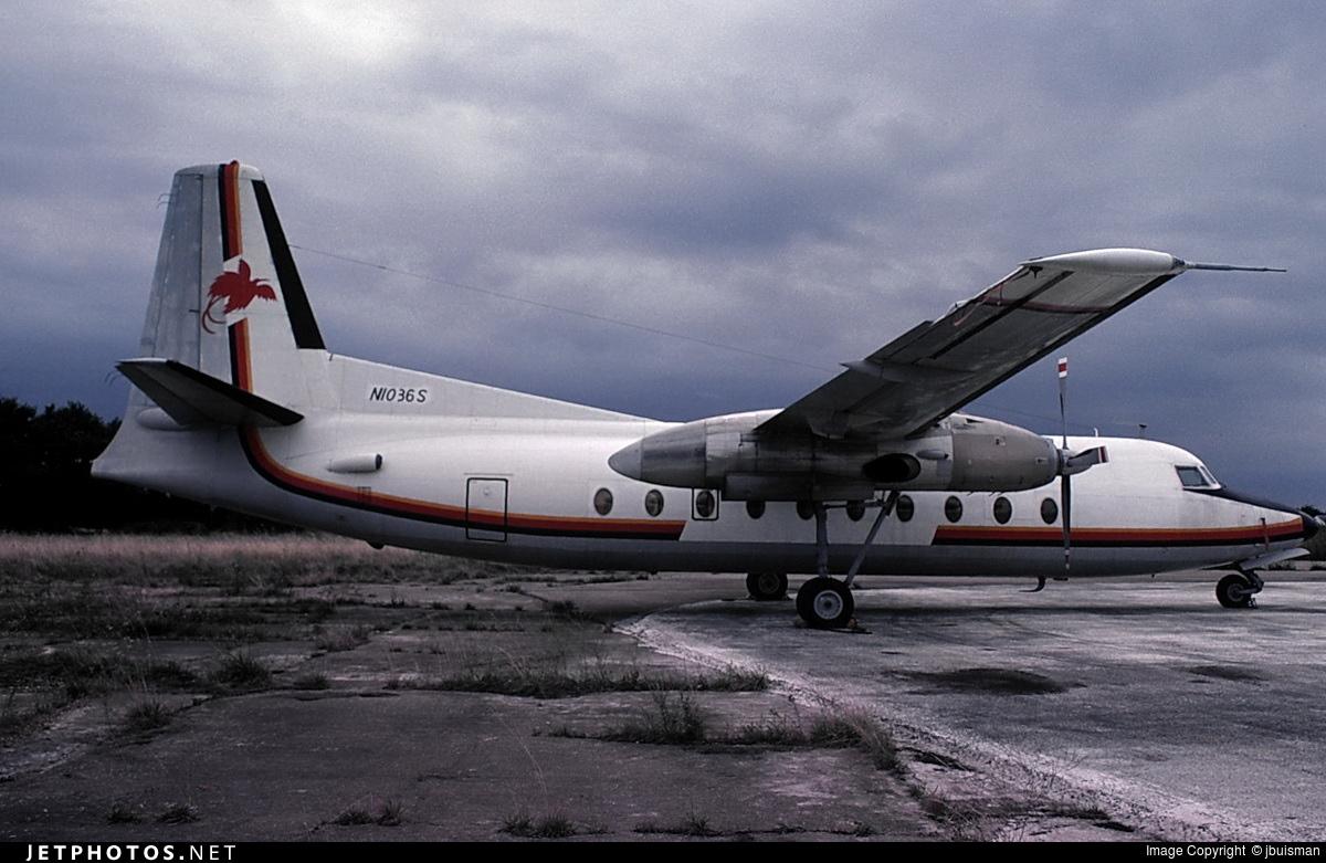 N1036S - Fokker F27-200 Friendship - Air Niugini