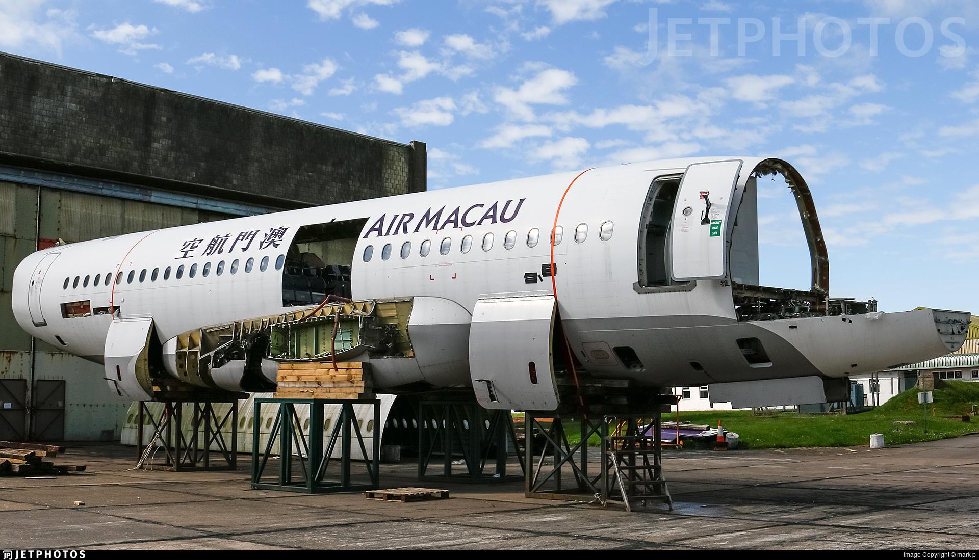 LY-BHF - Airbus A319-132 - Air Macau