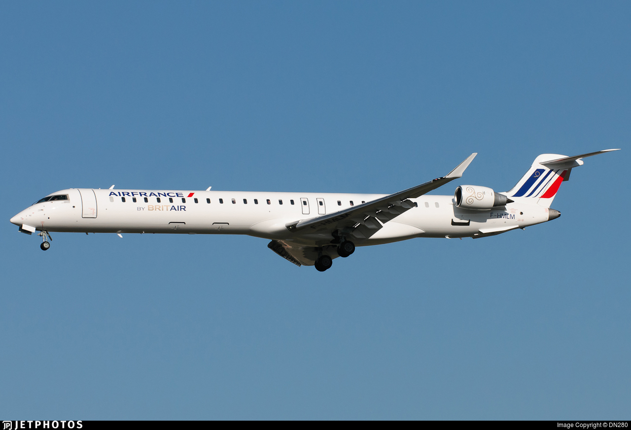F-HMLM - Bombardier CRJ-1000EL - Air France (Brit Air)