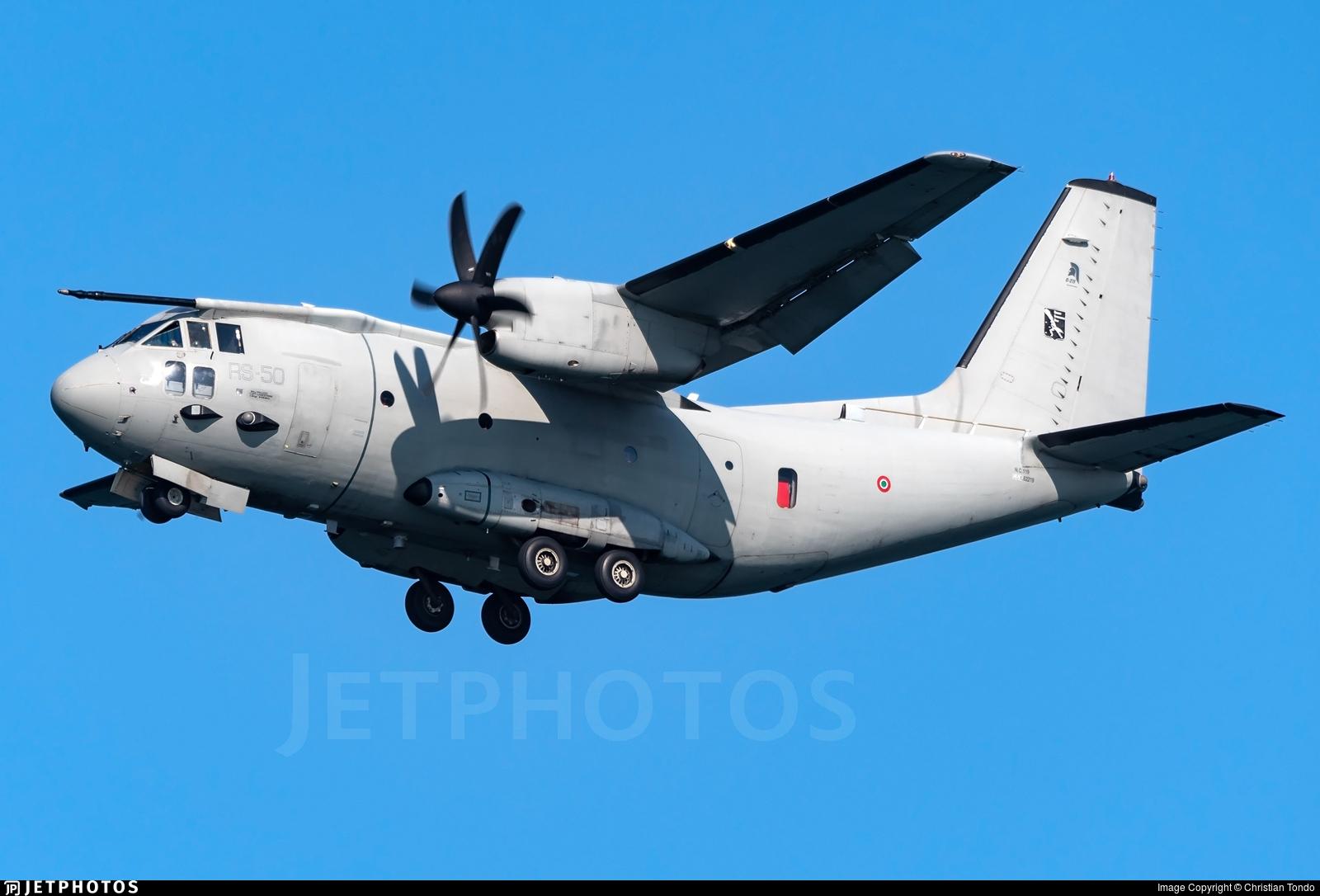 MM62219 - Alenia C-27J Spartan - Italy - Air Force