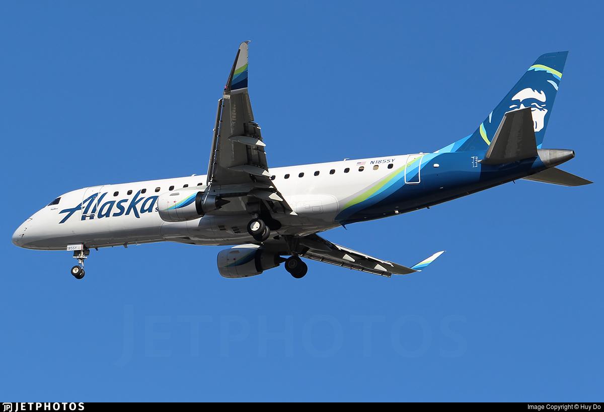 N185SY - Embraer 170-200LR - Alaska Airlines (Skywest Airlines)