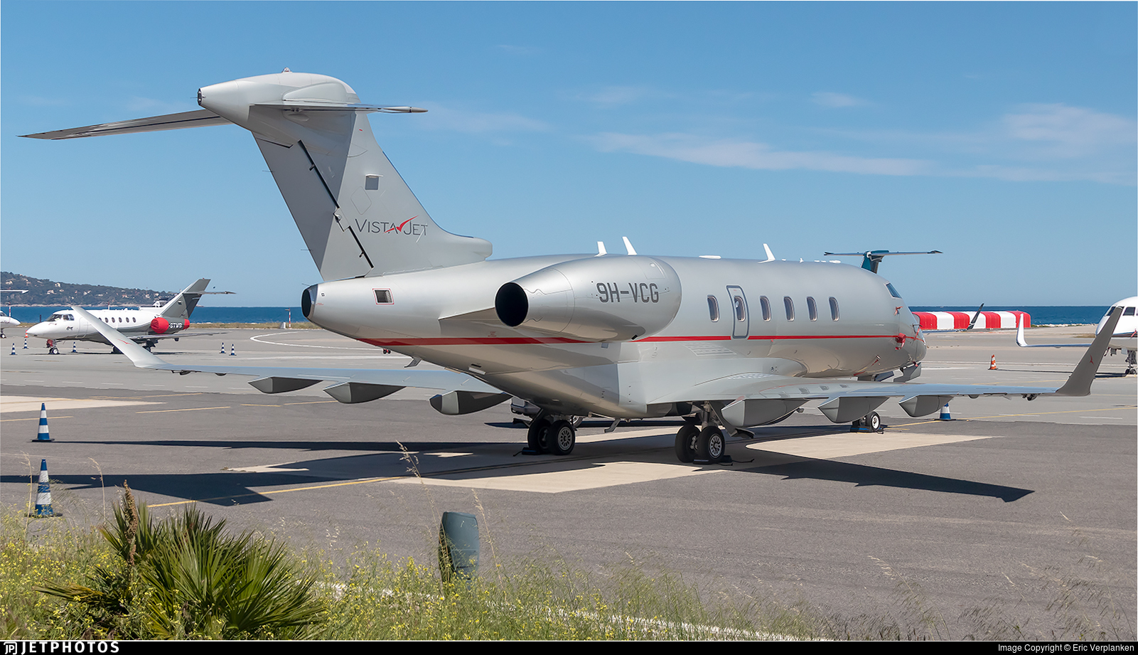 9H-VCG - Bombardier BD-100-1A10 Challenger 350 - VistaJet