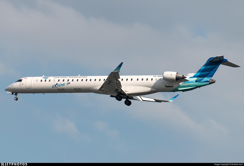 PK-GRN | Bombardier CRJ-1000 | Garuda Indonesia | Andrew